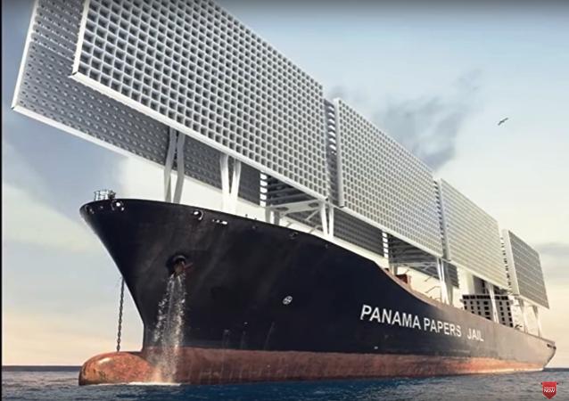 Un navire-prison dans le style de Game of Thrones présenté en France (Vidéo)