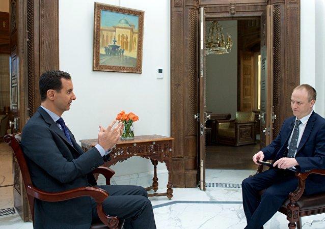 Interview accordée à Sputnik par le Président syrien Bachar el-Assad