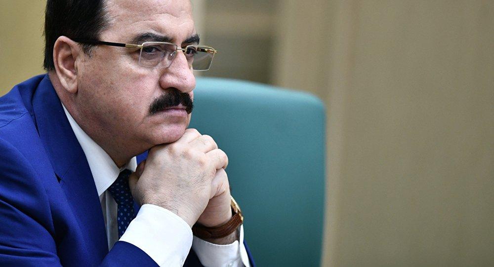 L'ambassadeur syrien en Russie, Riyad Haddad