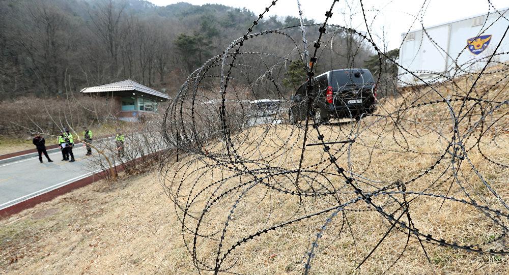 Déploiement d'une batterie THAAD en Corée du Sud