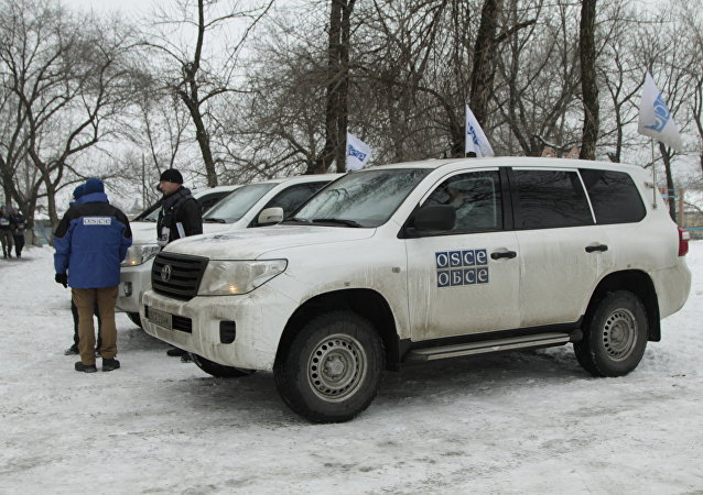 Deputy head of OSCE Mission to Ukraine Alexander Hug