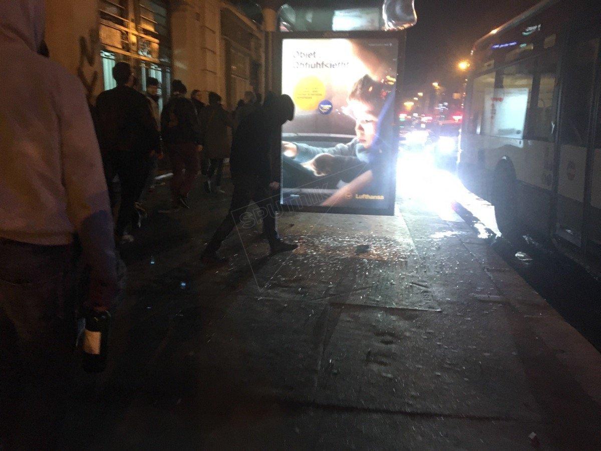 Affrontements près du gare du Nord