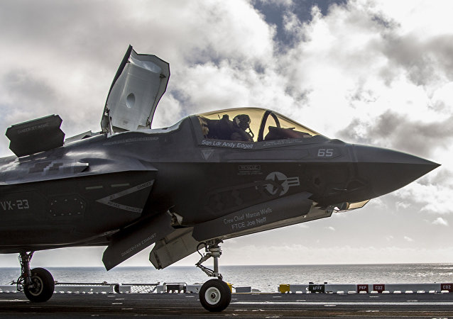 Chasseur Lockeed Martin F-35