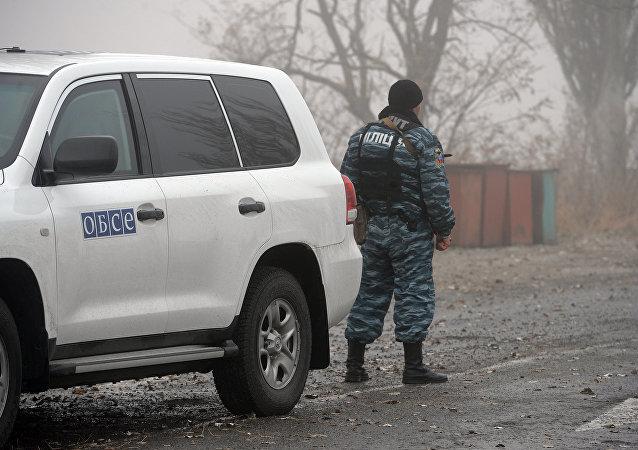 voiture de l'OSCE