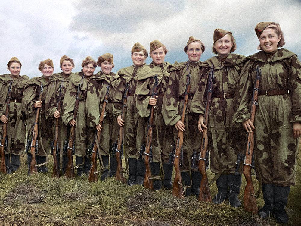 L'Ecole centrale d'entraînement des snipers, 1943
