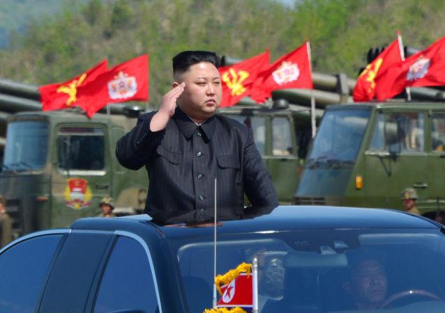 Manœuvres d'artillerie de grande envergure en Corée du Nord