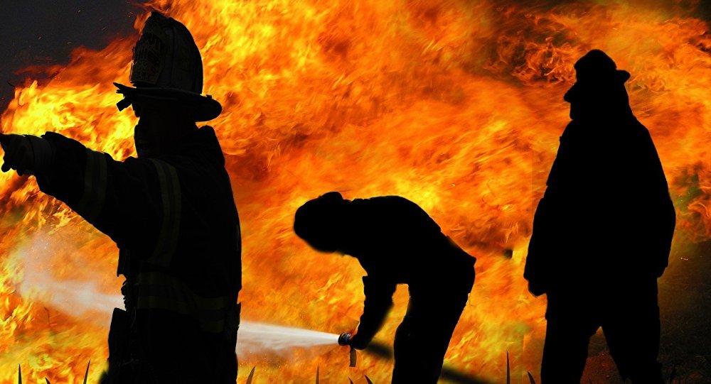 Un incendie
