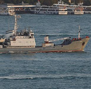Le navire de renseignement Liman dans le Bosphore (archives)