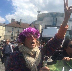 Marche Mondiale du Cannabis à Bastille