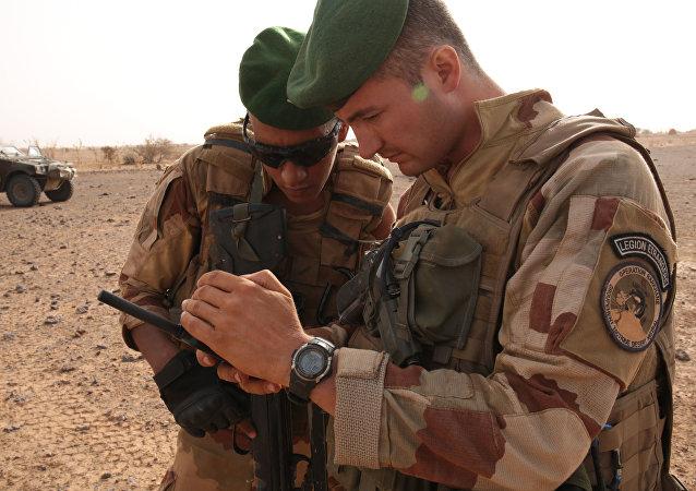 Des militaires français au Mali