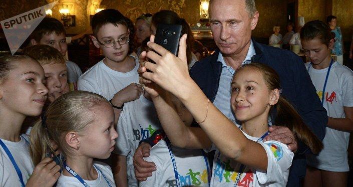 Le Président Vladimir Poutine lors d'un déplacement à Sotchi. Image d'illustration