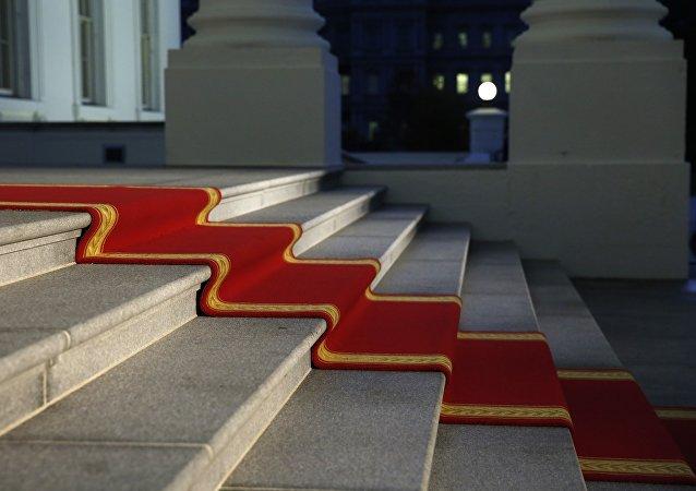 Tapis rouge à la Maison-Blanche