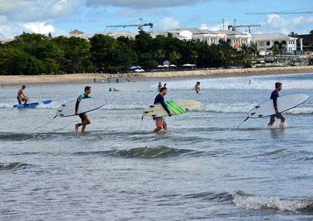 «Infiniment reconnaissant»: un surfeur écossais sauvé après 30h en pleine mer