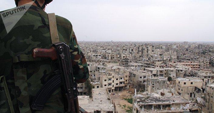 L'armée syrienne desserre l'étau djihadiste autour de la ville de Homs