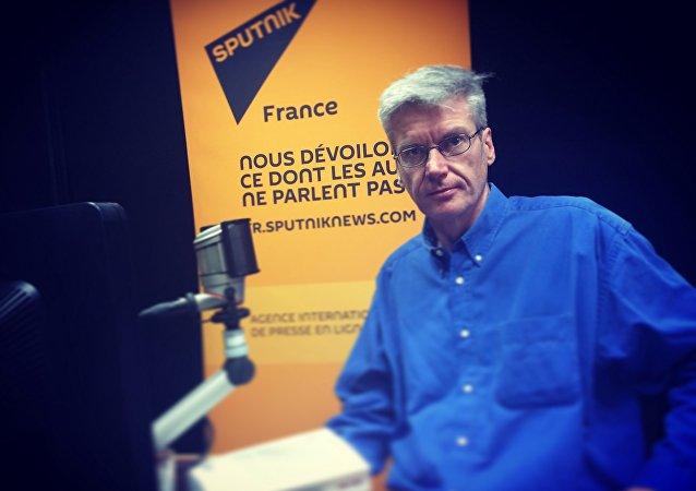 le politologue Marc Crapez