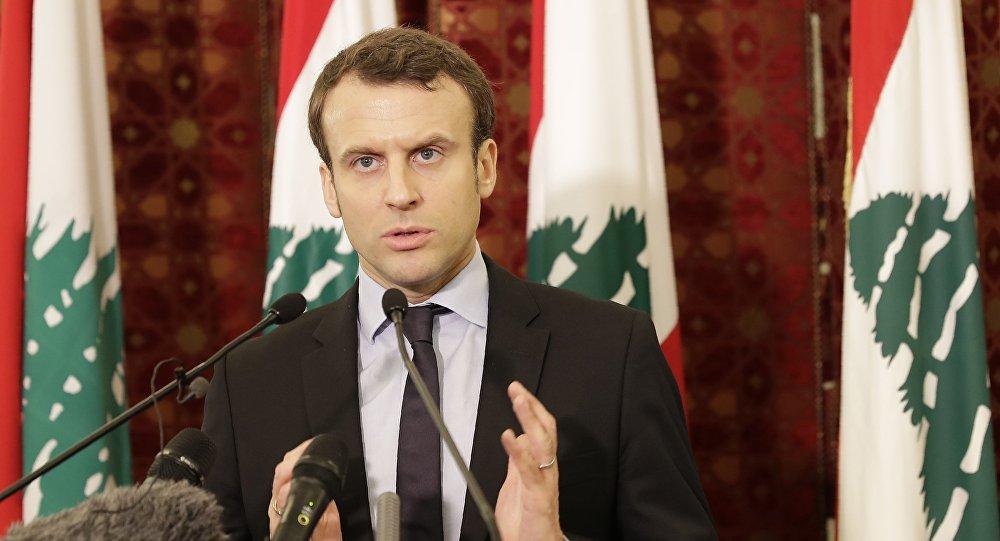 Emmanuel Macron au Liban