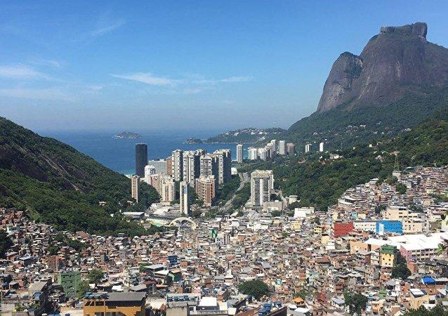 Rocinha: la plus grosse favela de la ville de Rio de Janeiro