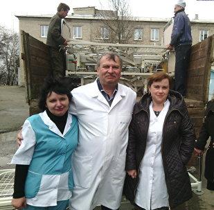 L'ONG Zukunft Donbass à Lougnsk