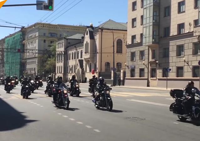 Le festival «Moscou, ville des motards»