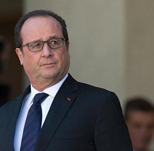 François Hollande, président français