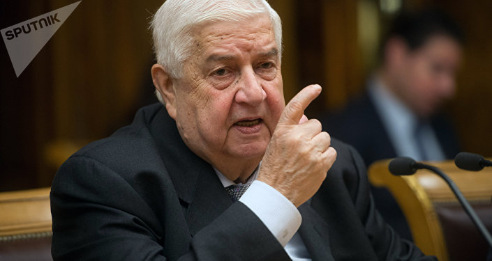 Le ministre syrien des Affaires étrangères Walid Mouallem