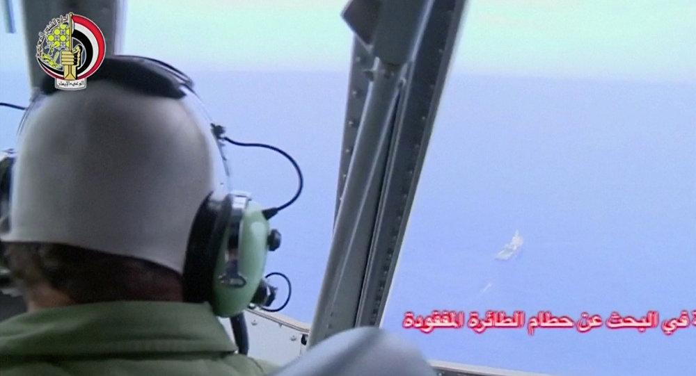 Un pilote de l'armée de l'air égyptienne