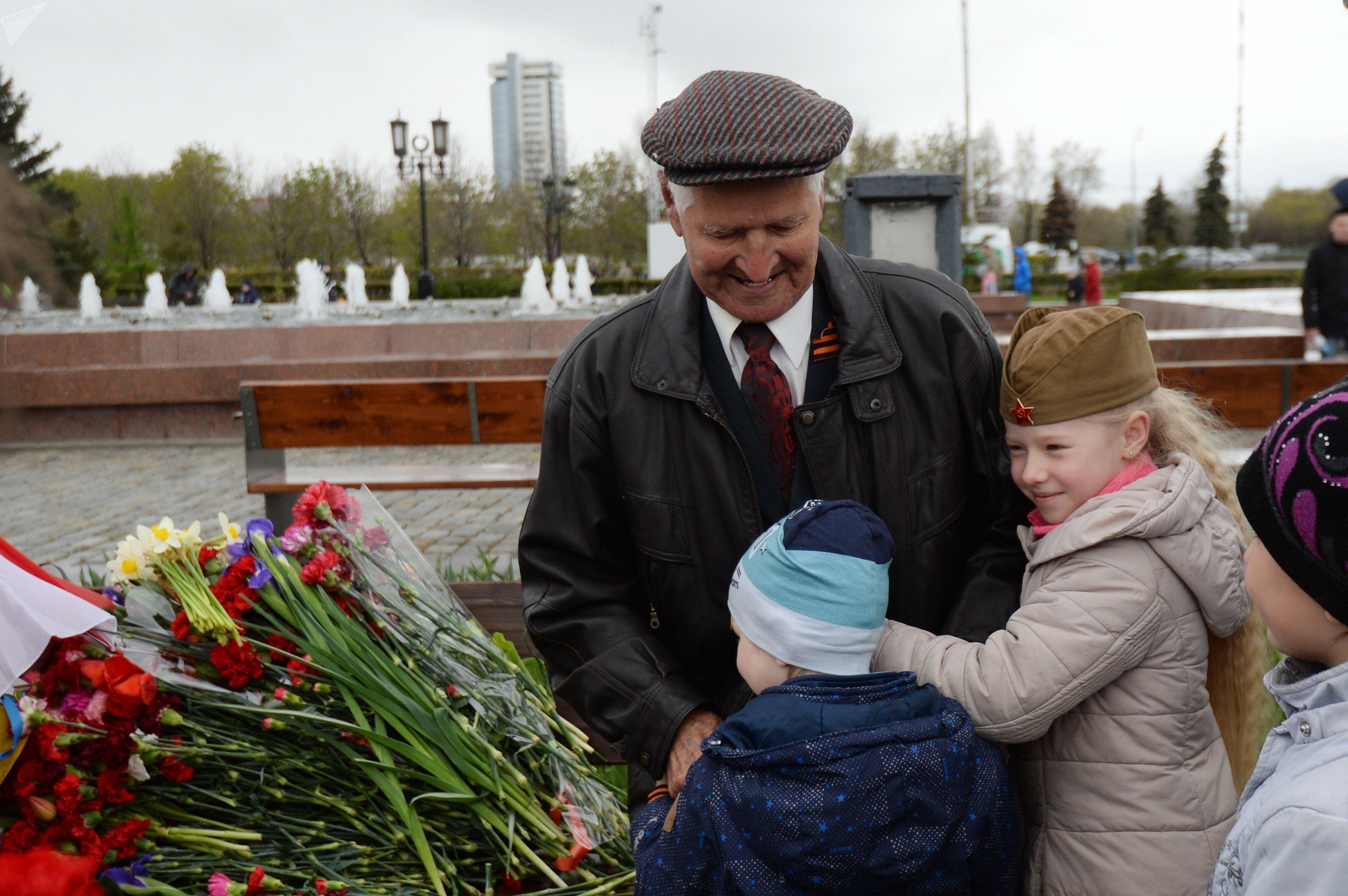 Jour de la Victoire à Moscou