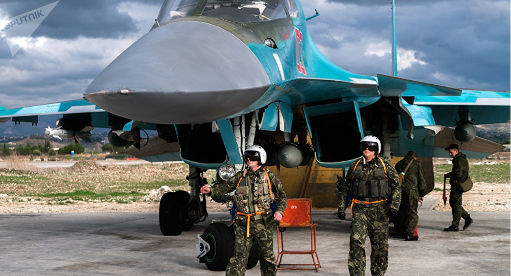la base aérienne de Hmeimim en Syrie.