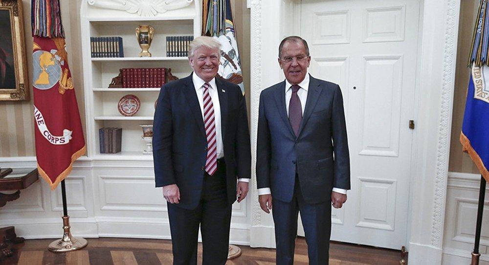 Donald Trump et Sergueï Lavrov