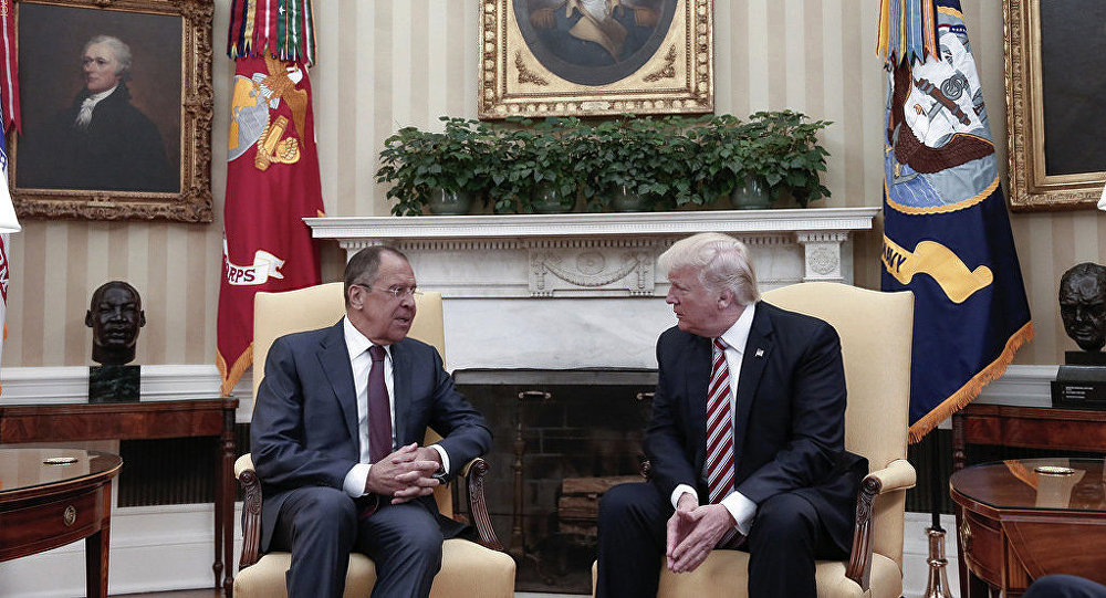 Les photos de la rencontre Trump-Lavrov