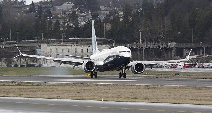 Boeing 737. Image d'illustration