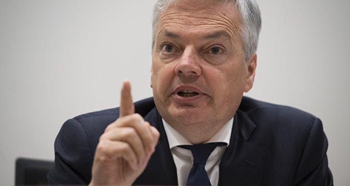 Le ministre des Affaires étrangères Didier Reynders