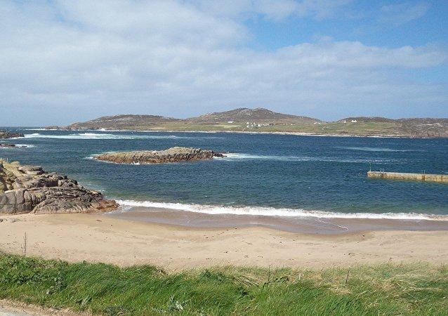 En Irlande, une plage de sable fait son retour 33 ans après sa disparition