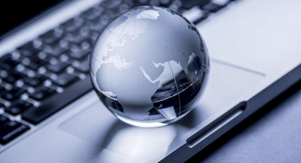 Cyberattaque mondiale. Image d'illlustration