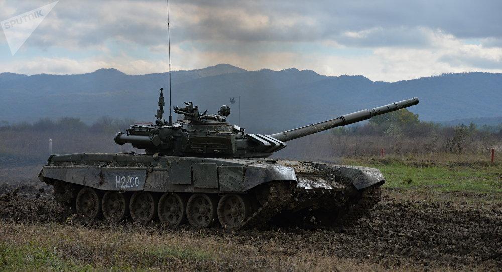 Un T-72 affronte un Abrams lors de manoeuvres en Pologne - vidéo