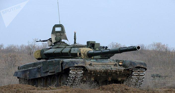 Le char T-72B3