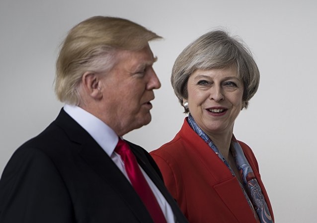 Donald Trump et Theresa May