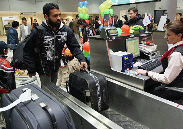 Une astuce russe pour assurer le contrôle des personnes qui courent dans les aéroports