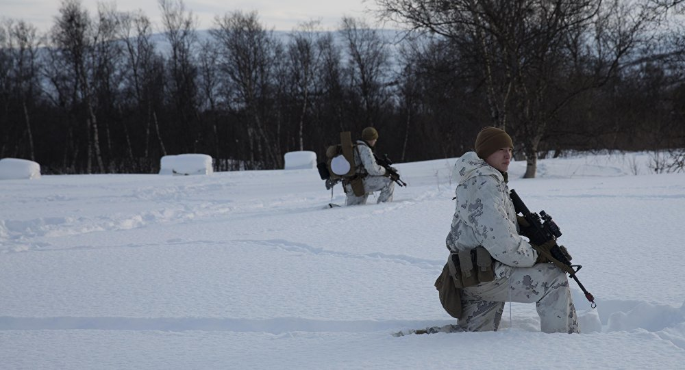 US Marines in Norway