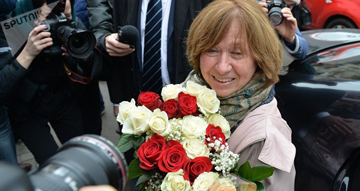 L'écrivain et journaliste biélorusse Svetlana Alexievitch a reçu le Prix Nobel de littérature 2015