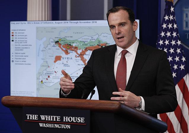 L'émissaire spécial américain dans la coalition internationale en Syrie et en Irak, Brett McGurk