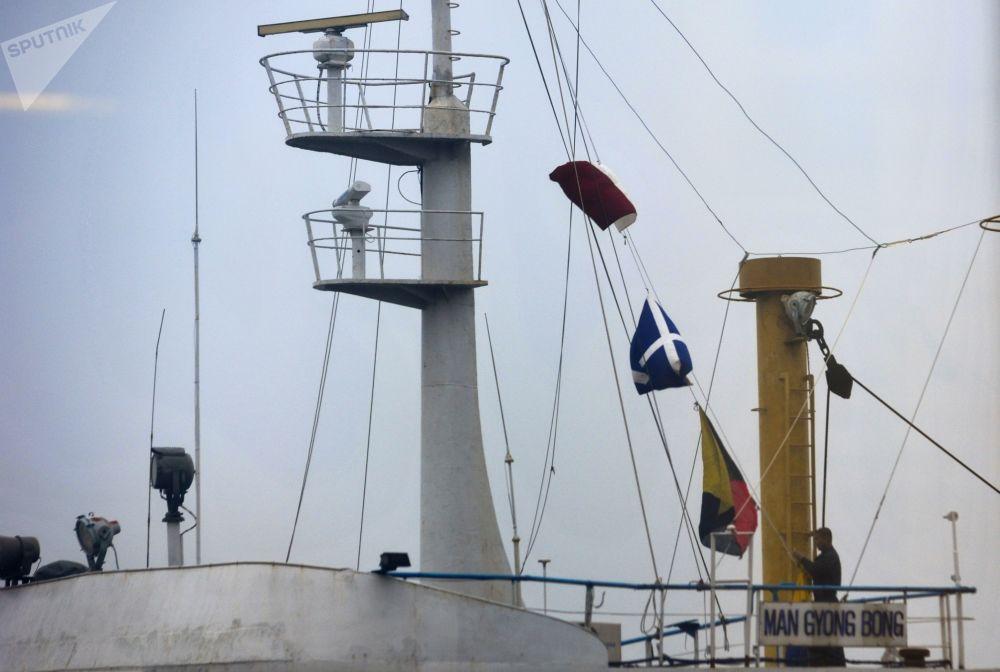 Le premier paquebot en provenance de Corée du Nord est arrivé à Vladivostok
