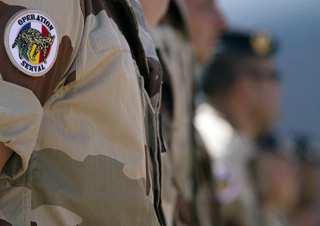 troupes françaises au Mali
