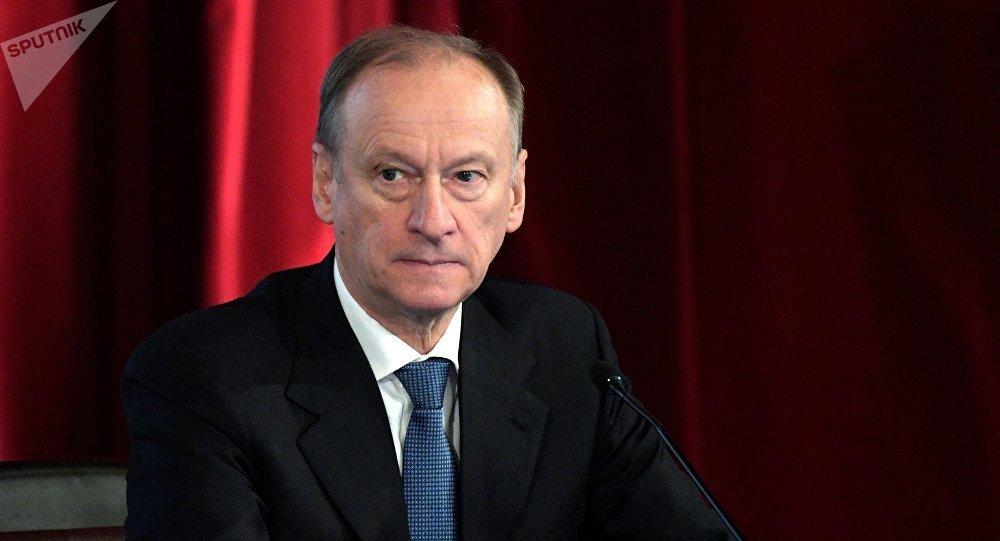Nikolaï Patrouchev, secrétaire du Conseil de sécurité de la Russie