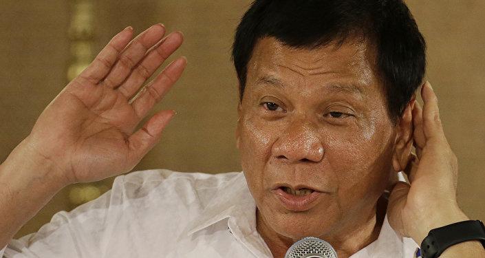 Rodrigo Duterte, président philippin