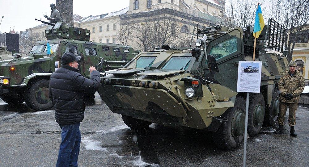 L'Ukraine livrait en Irak des véhicules blindés en panne