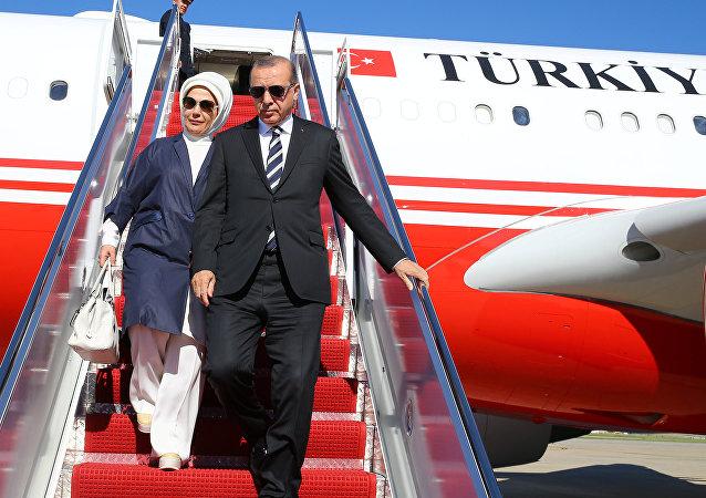 Visite du Président turc Recep Tayyip Erdogan à Washington