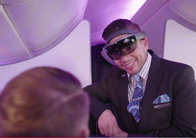 Les hôtesses de l'Air New Zealand porteront des lunettes de réalité virtuelle (Vidéo)