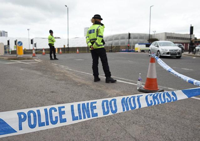 La police à Manchester