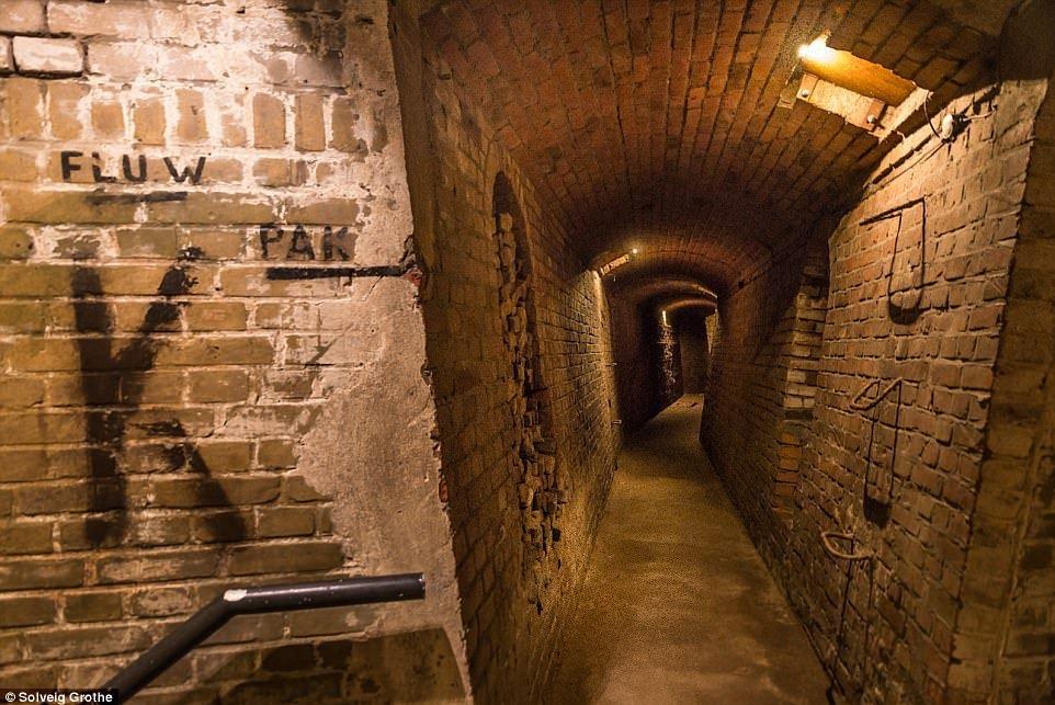 Une ville souterraine nazie